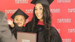 24세 싱글맘이 하버드 법대 대학원 졸업하며