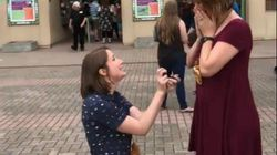 Proposal Video Goes Viral After After Couple Plan To Ask Each Other On The Same