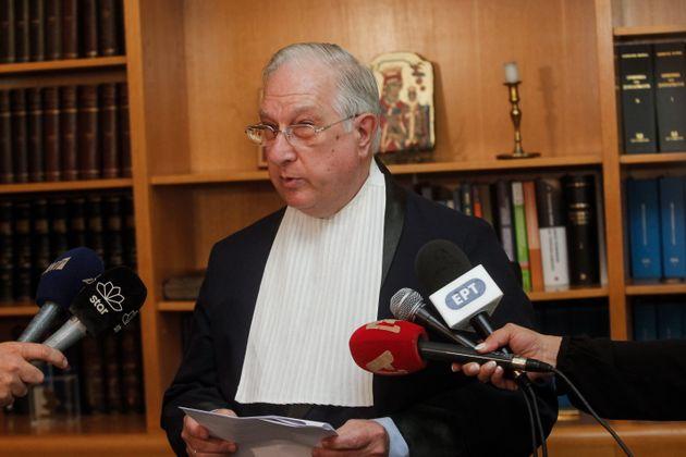 Απειλητική επιστολή έλαβε ο τέως πρόεδρος του ΣτΕ, Νίκος