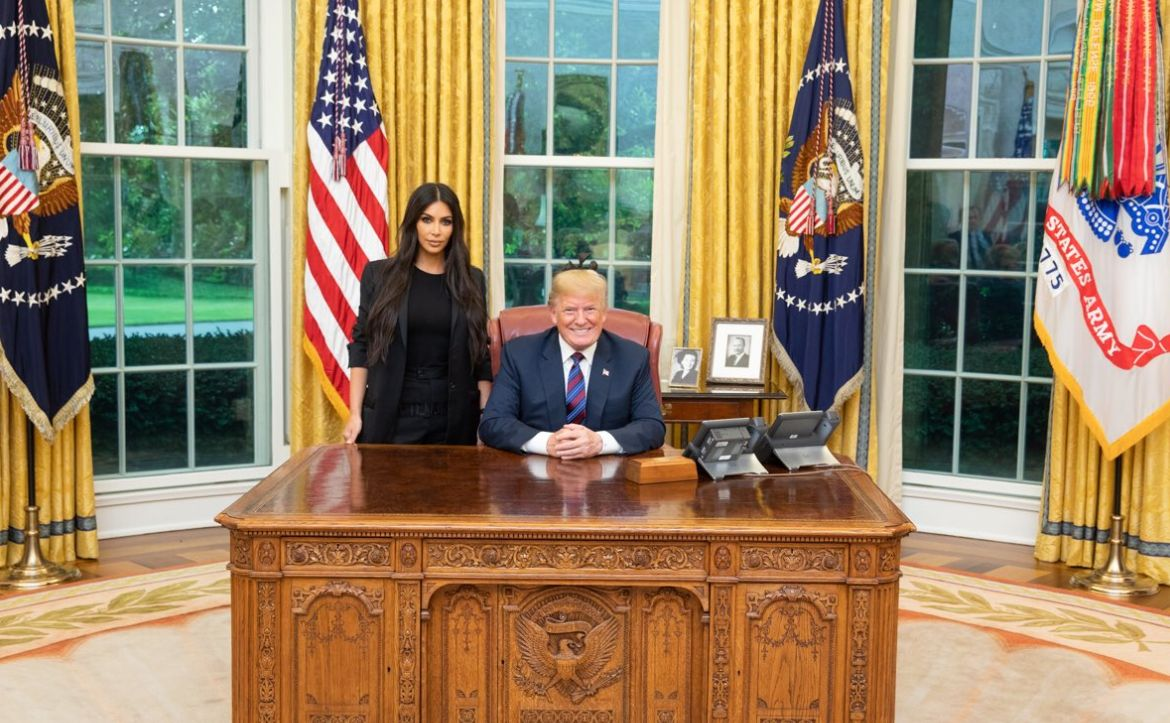 Kim Kardashian And Donald Trump Meet To Discuss Prison Reform And