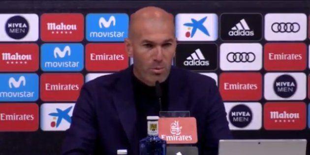 Zinédine Zidane quitte le Real