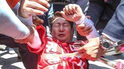 '권영진 자유한국당 대구시장 후보 폭행'