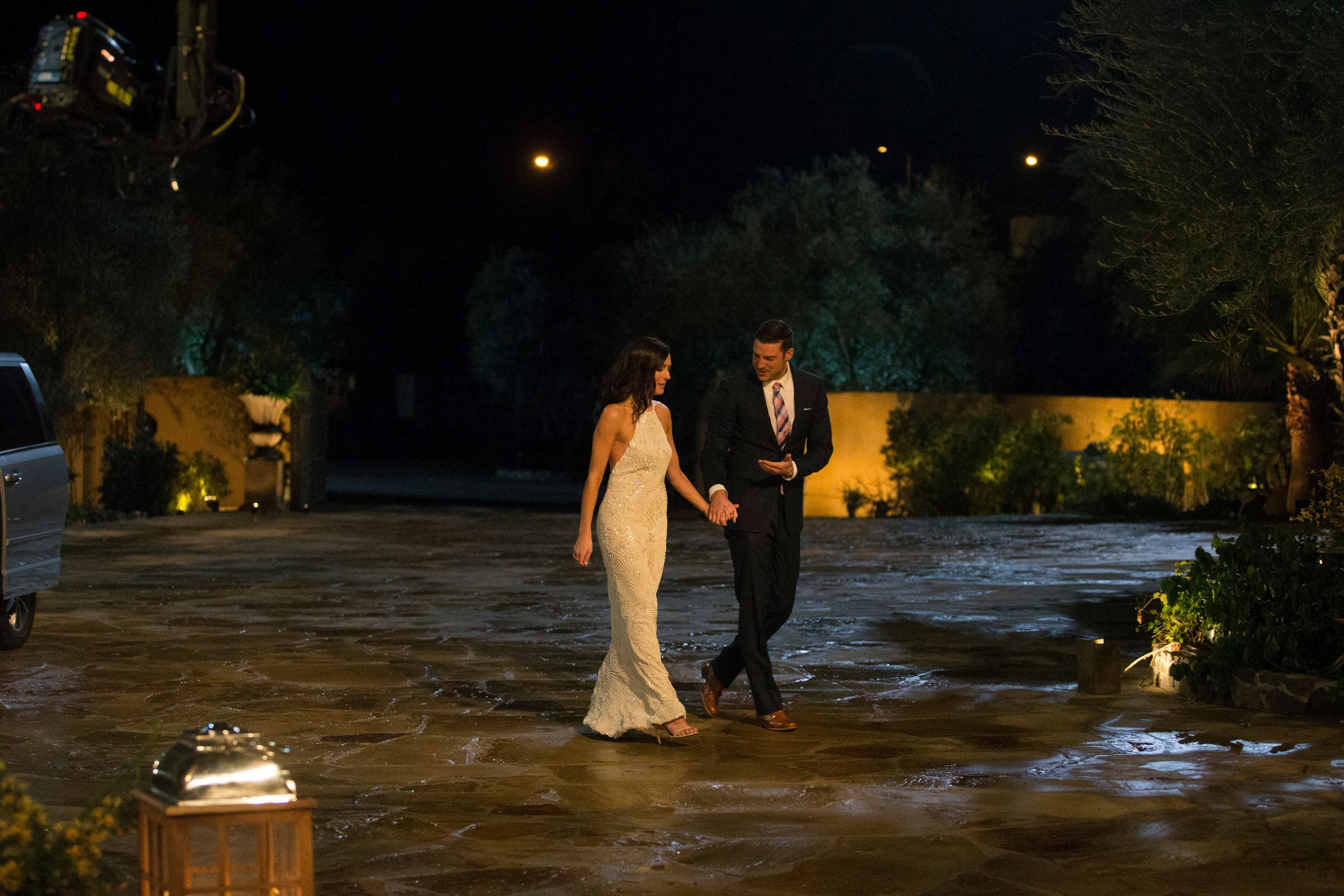 THE BACHELORETTE - 'Episode 1401' - Fan favorite Becca Kufrin captured Americas heart when she found herself at the center of one of the most gut-wrenching Bachelor breakups of all time. Now the Minnesota girl next door returns for a second shot at love and gets to hand out the roses, searching for her happily-ever-after in the 14th edition of ABCs hit series The Bachelorette, premiering MONDAY, MAY 28 (8:00-10:01 p.m. EDT), on The ABC Television Network. (Paul Hebert/ABC via Getty Images) BECCA KUFRIN, GARRETT