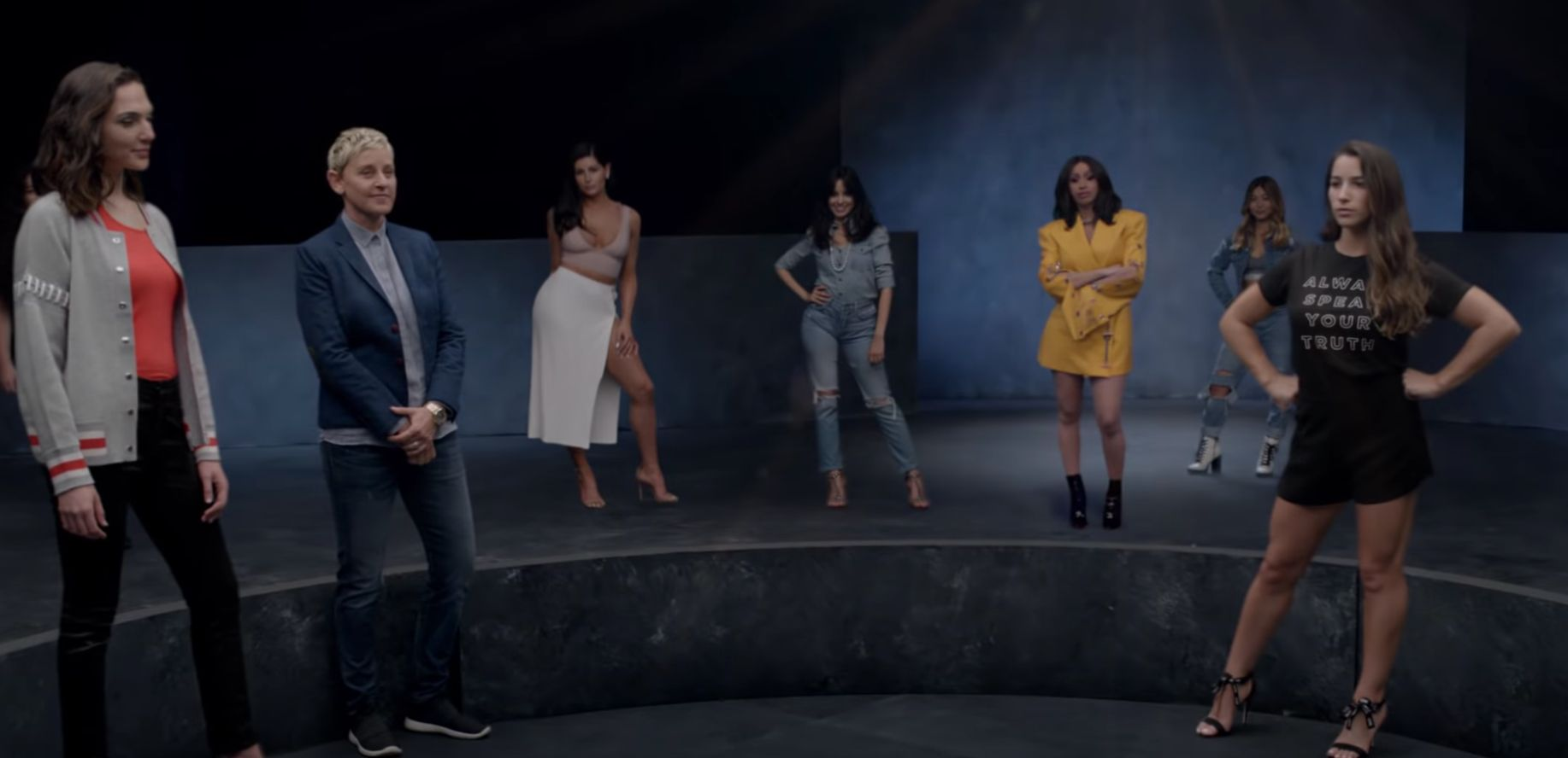 "A still from the ""Girls Like You"" video."