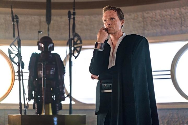 "Paul Bettany as Dryden Vos in ""Solo: A Star Wars Story."""