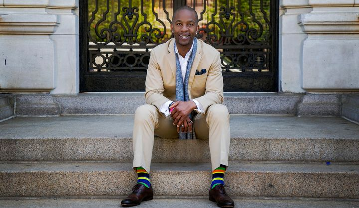Former NFL player and LGBTQ and feminist activist Wade Davis.