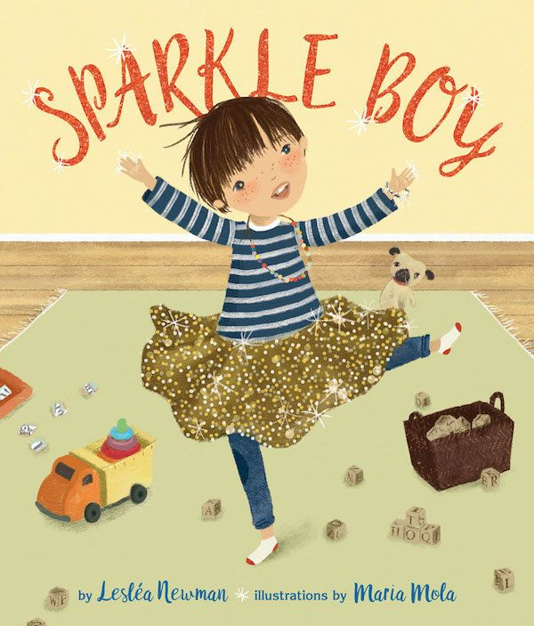 Another story from Newman, <i>Sparkle Boy</i>is about a boy who loves sparkles and glitter. It's also about his sister,