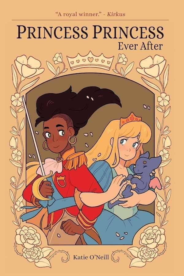 Like <i>Prince and Knight</i>, the graphic novel<i>Princess Princess Ever After</i>flips the fairy-tale narrative