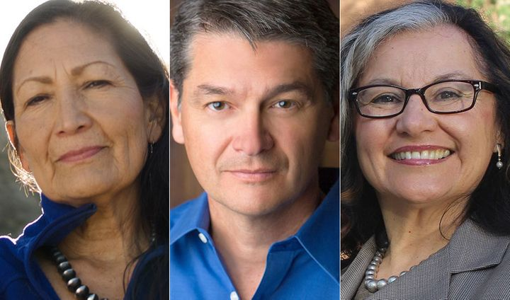Deb Haaland, Damon Martinez and Antoinette Sedillo Lopez are running in the Democratic primary for New Mexico's 1st Cong