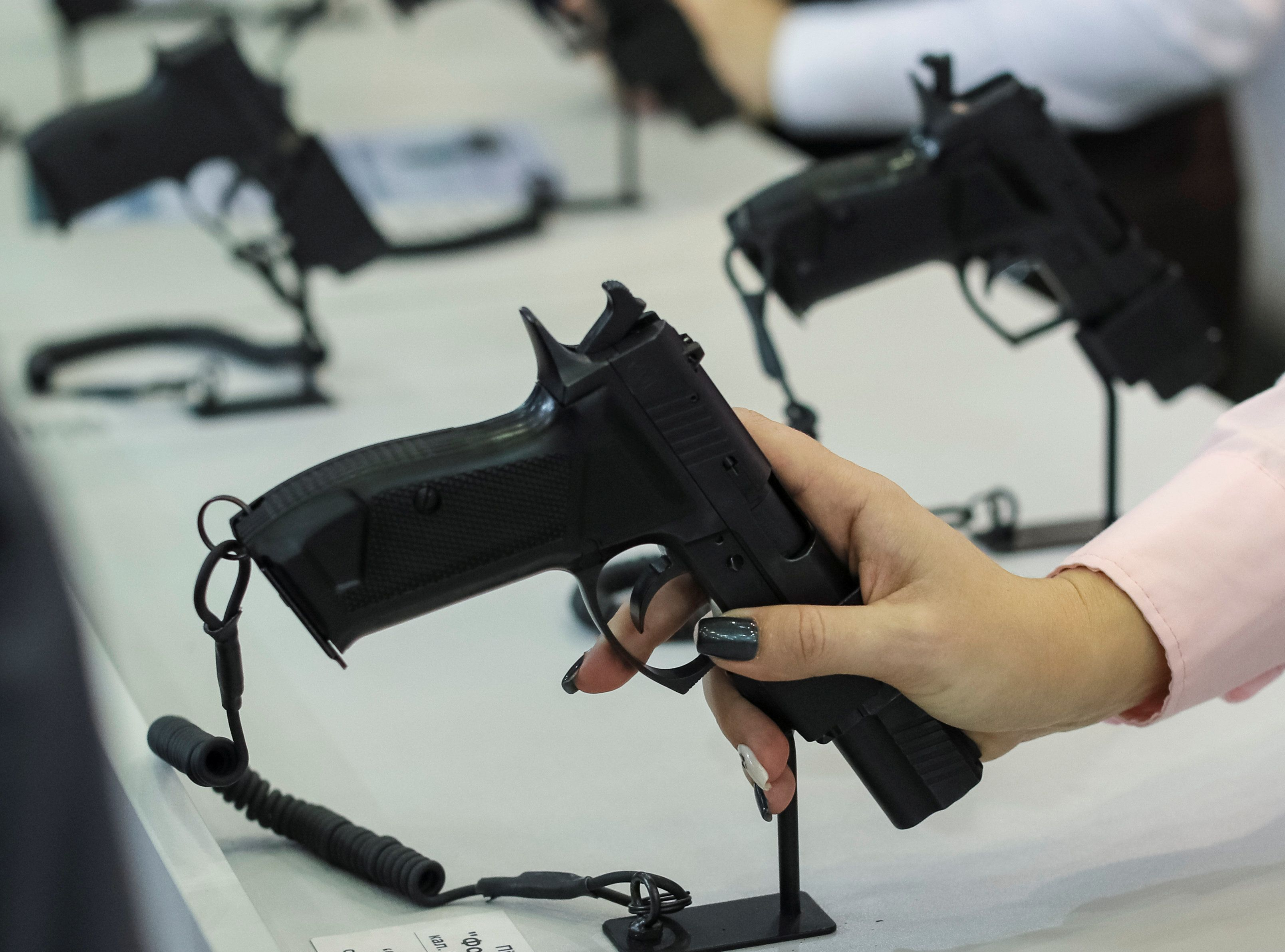 A new study finds there were declines in gun suicides in Connecticut and Indiana in the years following the states' impl