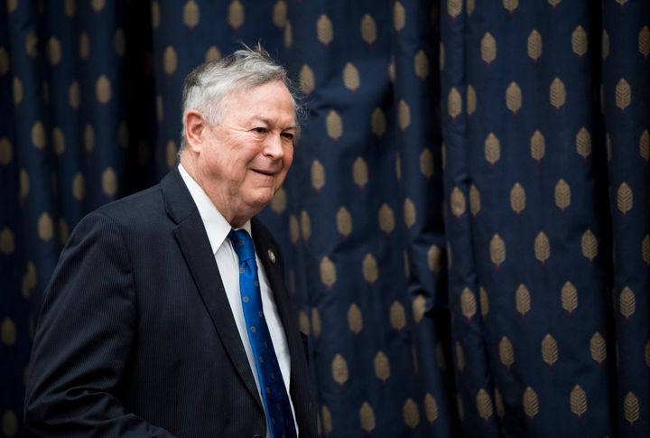 Rep. Dana Rohrabacher is one Republican who stands to benefit from a crowded field of Democratic challengers who could split