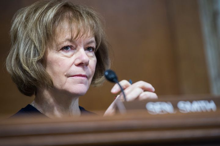 Tina Smith took over the Senate seat fellow Democrat Al Franken gave up earlier this year. She now seeks to hold the job in N