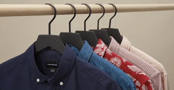 Dads don't have time to and don't like to shop. Keep them stylish with mix and match basics from Frank And Oak's clothing sub
