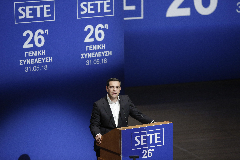 Τσίπρας στον ΣΕΤΕ: Η Ελλάδα επιστρέφει δυναμικά. Προχωράμε με σχέδιο για την επόμενη