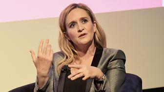 BEVERLY HILLS, CA - MAY 24:  Executive Producer & Host Samantha Bee speaks onstage during 'Full Frontal with Samantha Bee' FYC Event Los Angeles at The WGA Theater on May 24, 2018 in Beverly Hills, California.  (Photo by Charley Gallay/Getty Images for TBS/Turner)