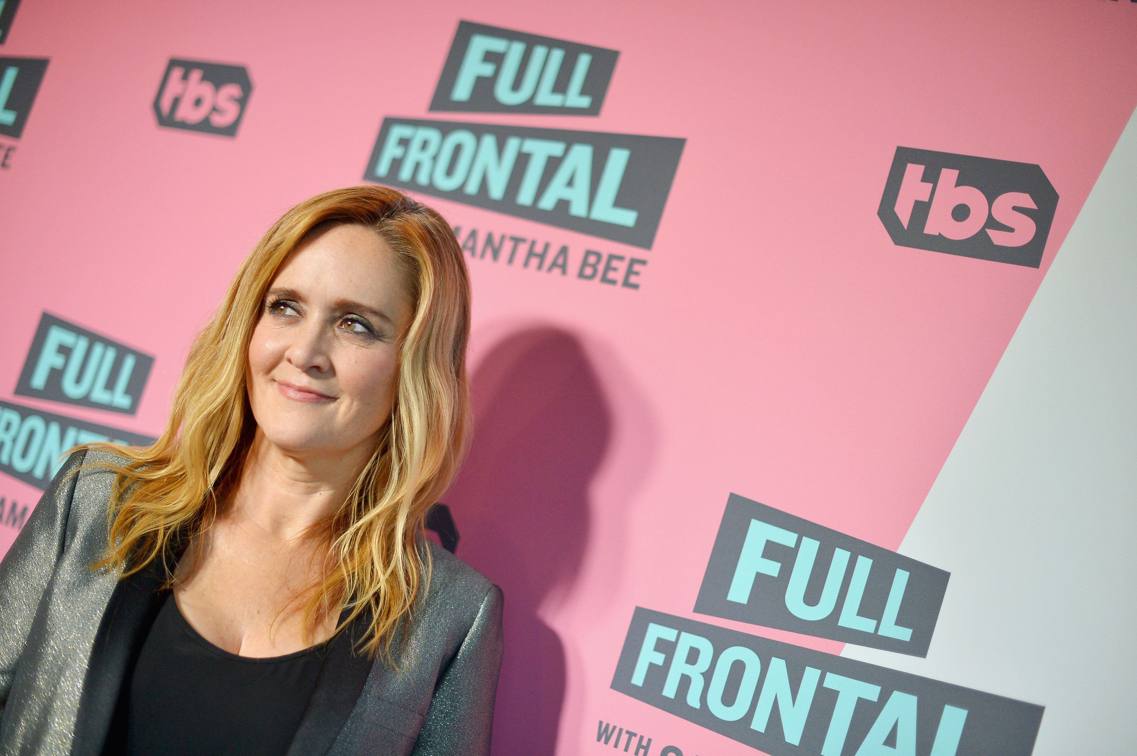BEVERLY HILLS, CA - MAY 24:  Executive Producer & Host Samantha Bee attends 'Full Frontal with Samantha Bee' FYC Event Los Angeles at The WGA Theater on May 24, 2018 in Beverly Hills, California.  (Photo by Charley Gallay/Getty Images for TBS/Turner)