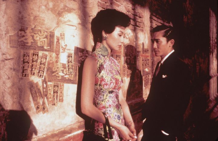 "Maggie Cheung, left, stars as Li-zhen and Tony Leung stars as Chow in Wong Kar-Wai's 2001 film ""In the Mood for Love."""