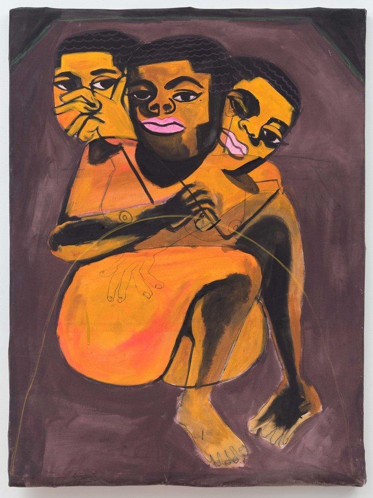 O artista plástico que retrata as identidades negra e queer de maneira