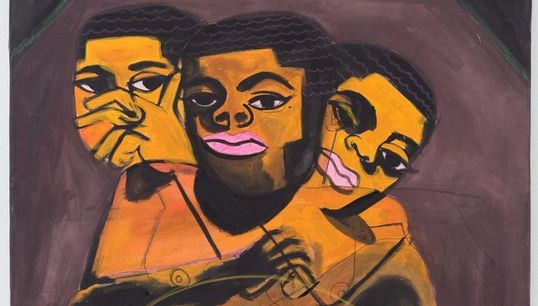 This Artist Is Tackling Black, Queer Identities In An Intimate
