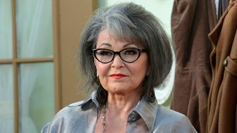 FILE PHOTO: Actress Rosanne Barr arrives for the taping of the Comedy Central Roast of Roseanne in Los Angeles, U.S., August 4, 2012. REUTERS/Phil McCarten/File Photo