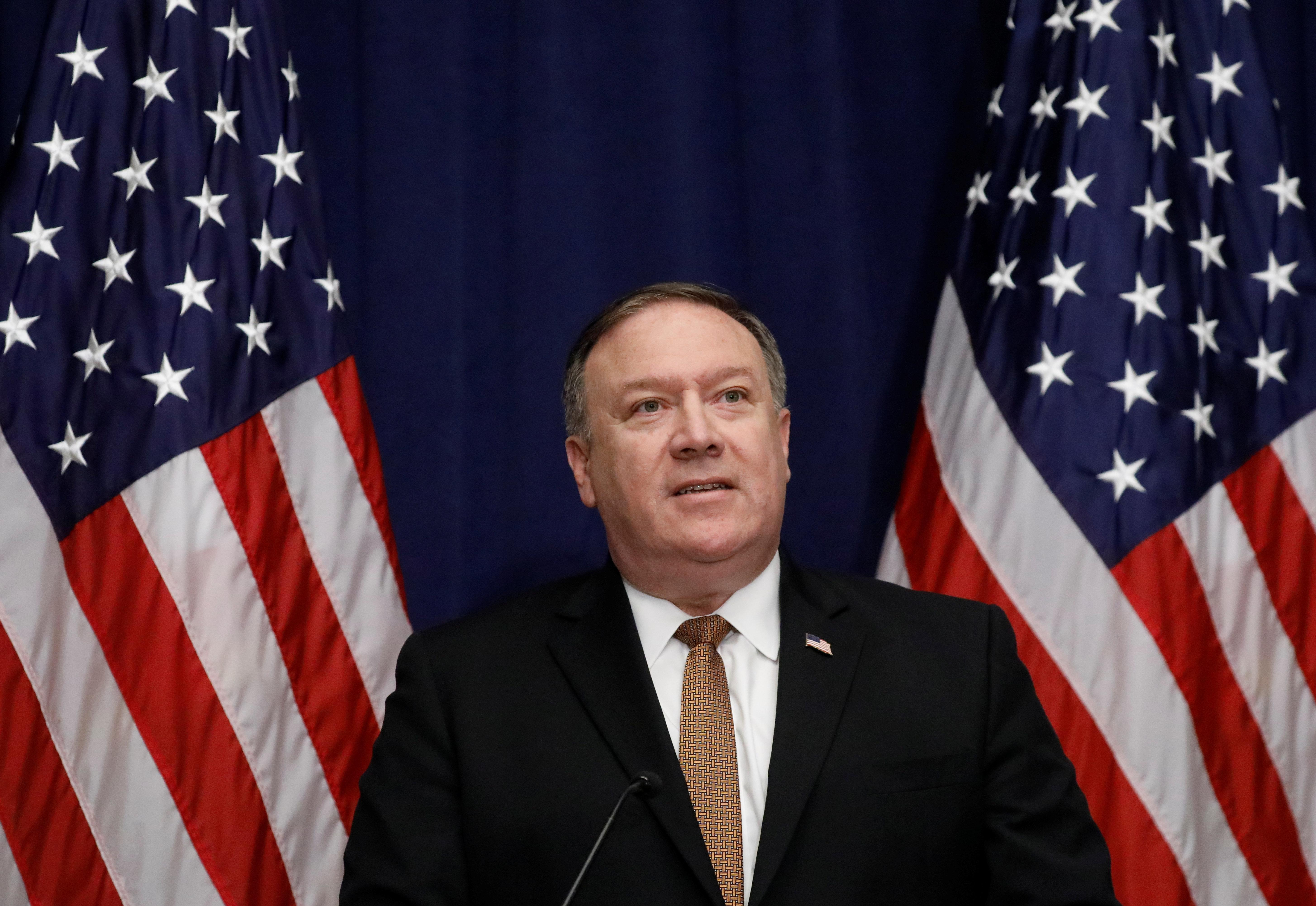 """폼페이오가 """"김정은의 과감한 리더십""""을 주문했다"""