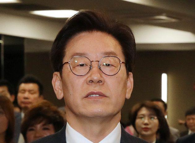 이재명 더불어민주당 경기도지사