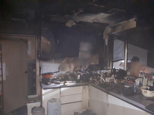 사람도 없고, 전기 문제도 없던 단독주택에서 화제가 발생한