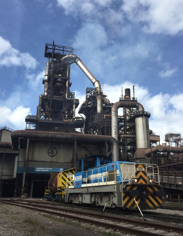 Workers at Tata's giant Port Talbot steelworks in Walessay the moveis 'another body