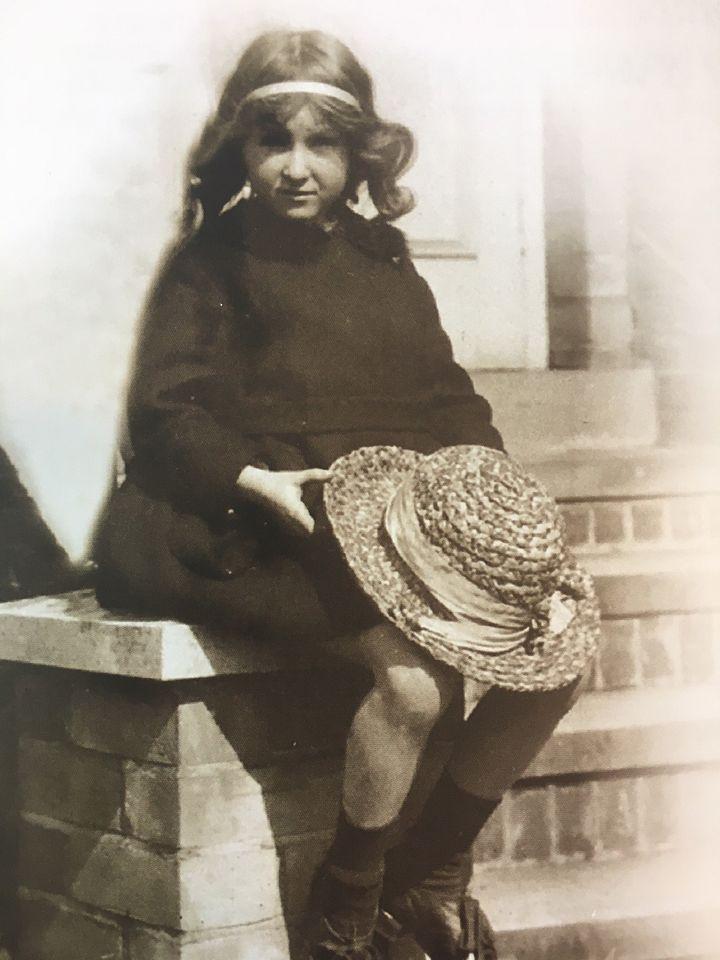 Rosemary aged six.