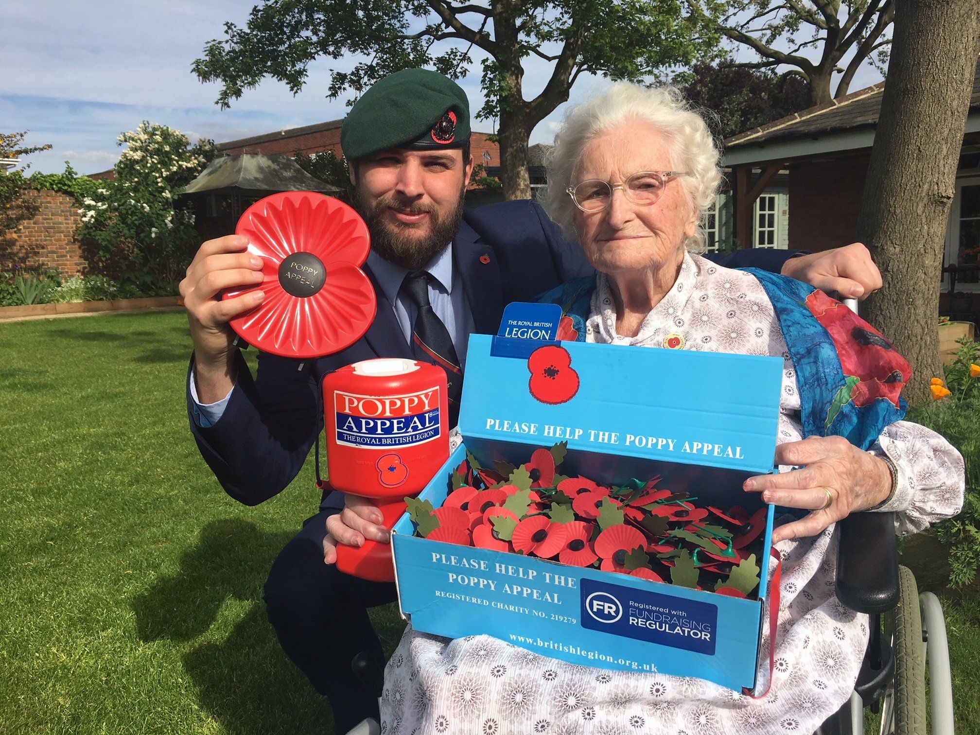 Britain's Longest Serving Poppy Seller, 103, Is