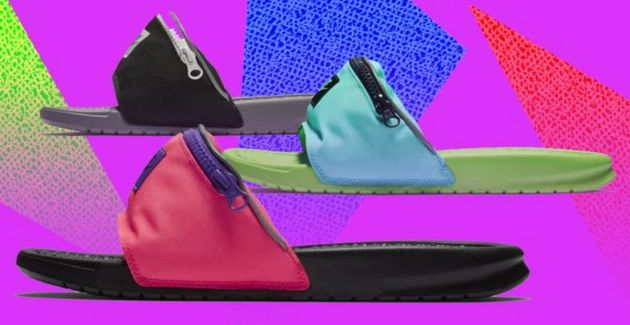 Fanny Pack Sliders And Toe Shoes: The Footwear You Never