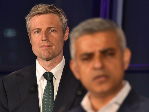 Zac Goldsmith lost to Sadiq Khan in the 2016 London Mayor