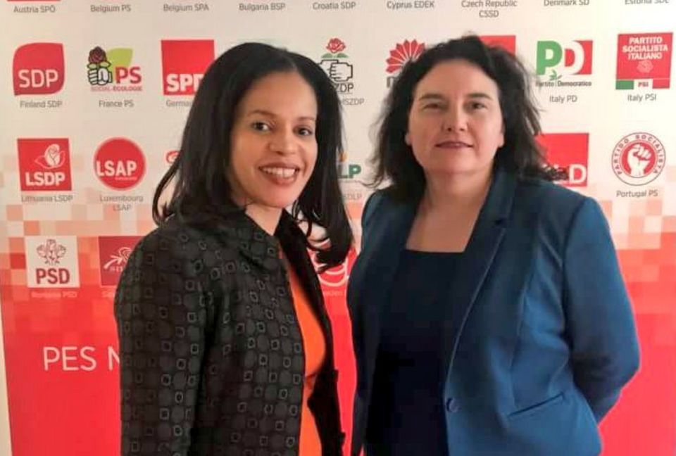 Democracy Review members Claudia Webbe and Katy