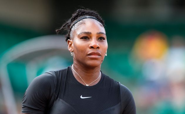 Williams playing at the French Open Tennis Tournament on May 31, 2018, in Paris,