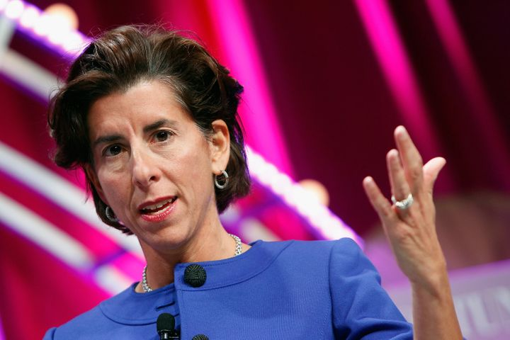 Rhode Island Gov. Gina Raimondo (D) signed a pair of new gun laws on Friday, making her state the latest to join a nationwide