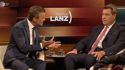 Bayerns Ministerpräsident Söder spricht über Flüchtlinge – und bringt Markus Lanz gegen sich auf