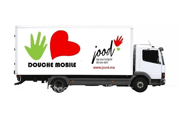 L'association Jood développe un projet de camion-douche pour les