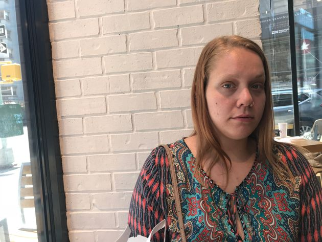 Carley Perez tried to call for help when a home careclient threatened