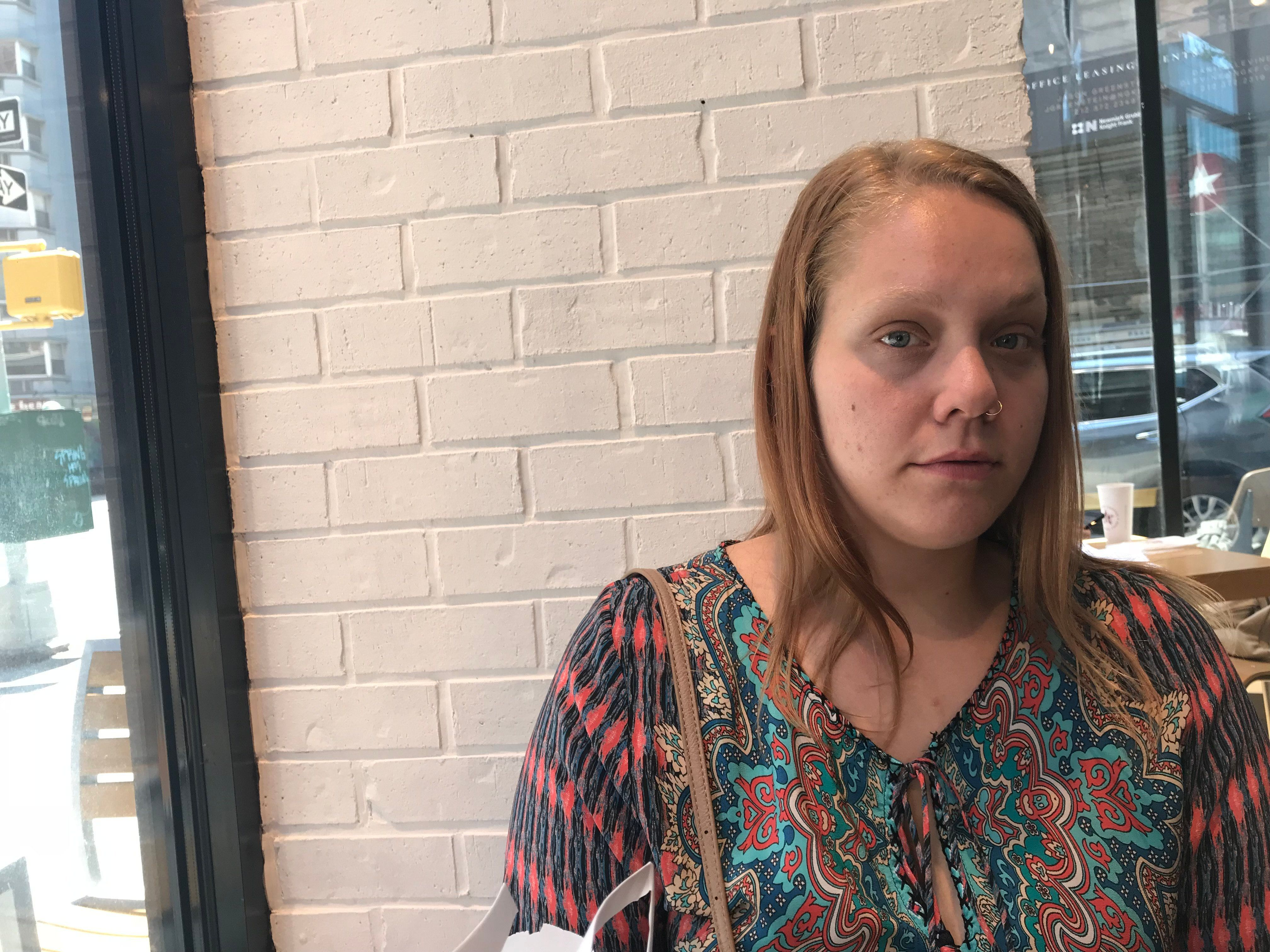 Carley Perez tried to call for help when a home care client threatened her.