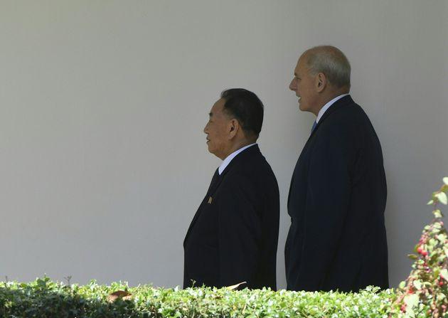 Στον Λευκό Οίκο το «δεξί χέρι» του Κιμ Γιονγκ Ουν για συνάντηση με