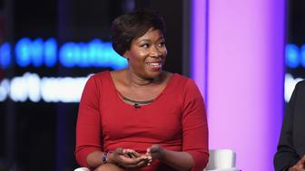 NEW YORK, NY - MARCH 08:  Joy Reid and Vincent Warren speak onstage during TIME AND PUNISHMENT: A Town Hall Discussion with JAY Z and Harvey Weinstein on Spike TV at MTV Studios on March 8, 2017 in New York City.  (Photo by Dave Kotinsky/Getty Images for Spike)