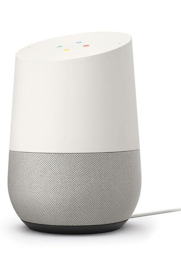 "His dad jokes need an audience. Get it <a href=""https://shop.nordstrom.com/s/google-home-voice-activated-speaker/4653778?orig"