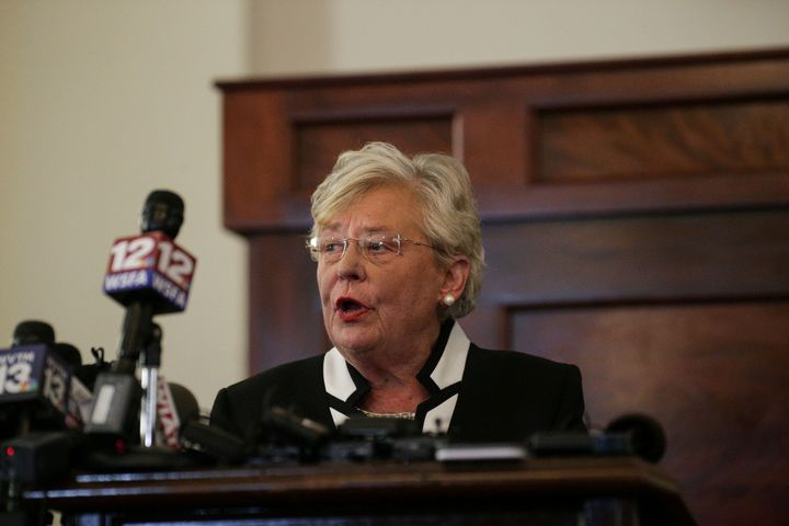 Alabama Gov. Kay Ivey (R) hasenacted a controversial plan intended to stop school shootings.