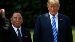 트럼프는 김정은을 싱가포르에서