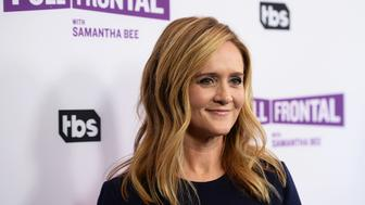 BEVERLY HILLS, CA - MAY 23:  Writer and comedian Samantha Bee arrives at TBS' 'Full Frontal With Samantha Bee' For Your Consideration Event at the Samuel Goldwyn Theater on May 23, 2017 in Beverly Hills, California.  (Photo by Amanda Edwards/WireImage)