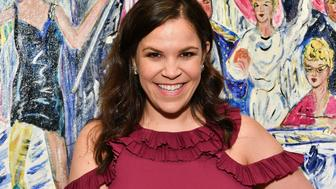 NEW YORK, NY - MAY 24:  Lindsay Mendez attends the 2018 Outer Critics Circle Theatre Awards at Sardi's on May 24, 2018 in New York City.  (Photo by Dia Dipasupil/Getty Images)