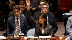 Veto américain contre une résolution visant la protection des Palestiniens