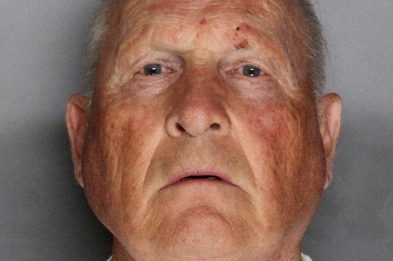 Joseph James DeAngelo, 72, appears in a booking photo provided by the Sacramento County Sheriff's Department.