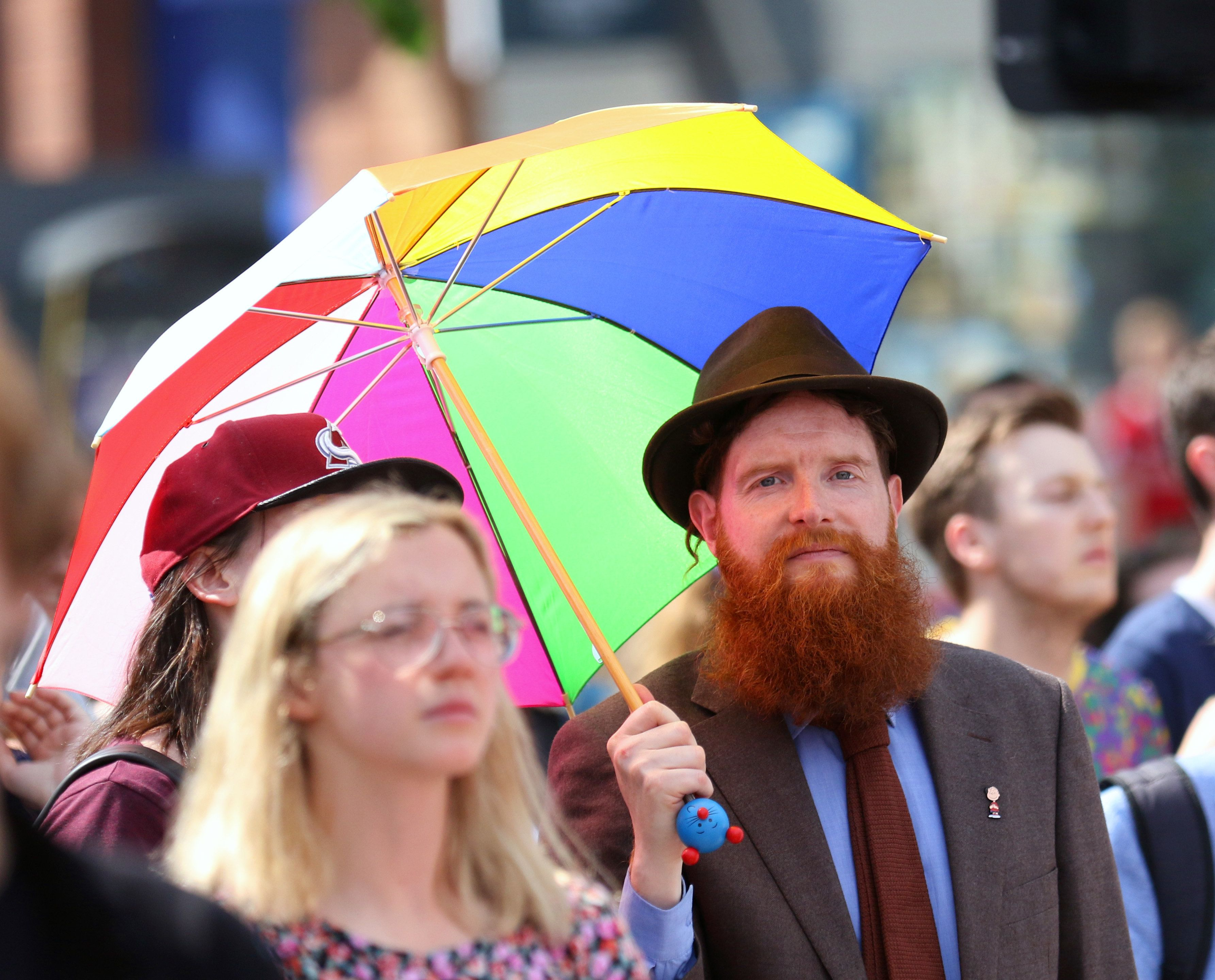 Thousands Take To Streets Of Belfast To Call For Equal