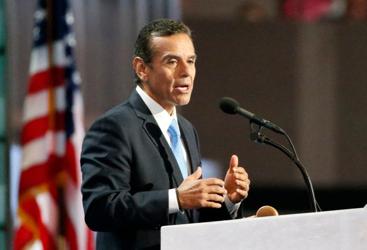 Former Los Angeles Mayor Antonio Villaraigosa (D) is running against California Lt. Gov. Gavin Newsom as a slightly more mode